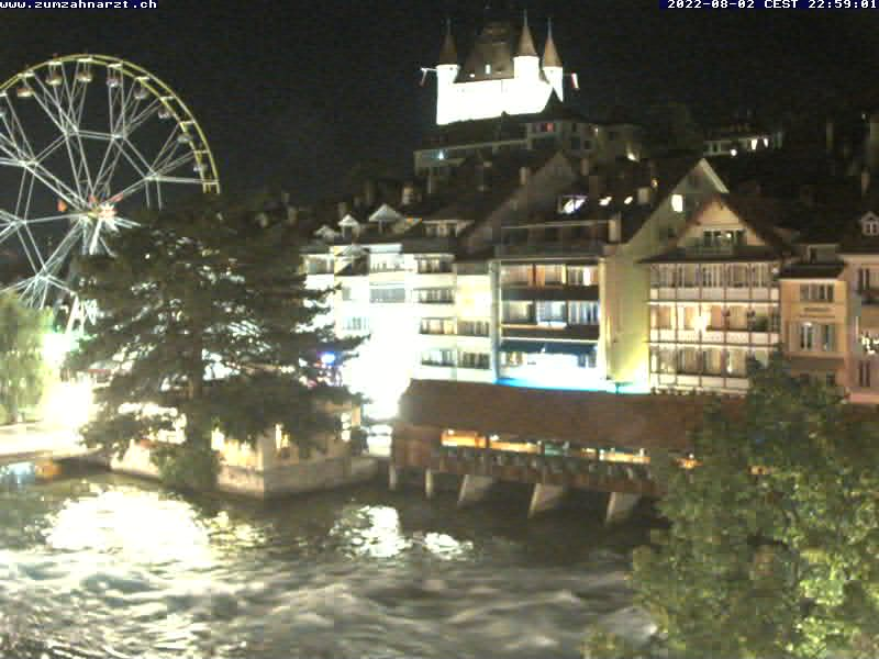 Thun Live Cam, Switzerland – View of the Castle